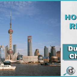 An Honest Review of Duolingo Chinese With Image of Shanghai Skyline