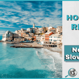 An Honest Review of News in Slow Italian With Image of Italian Beach City