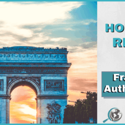 An Honest Review of Francais Authentique With Image of The Arc de Triomphe in Paris