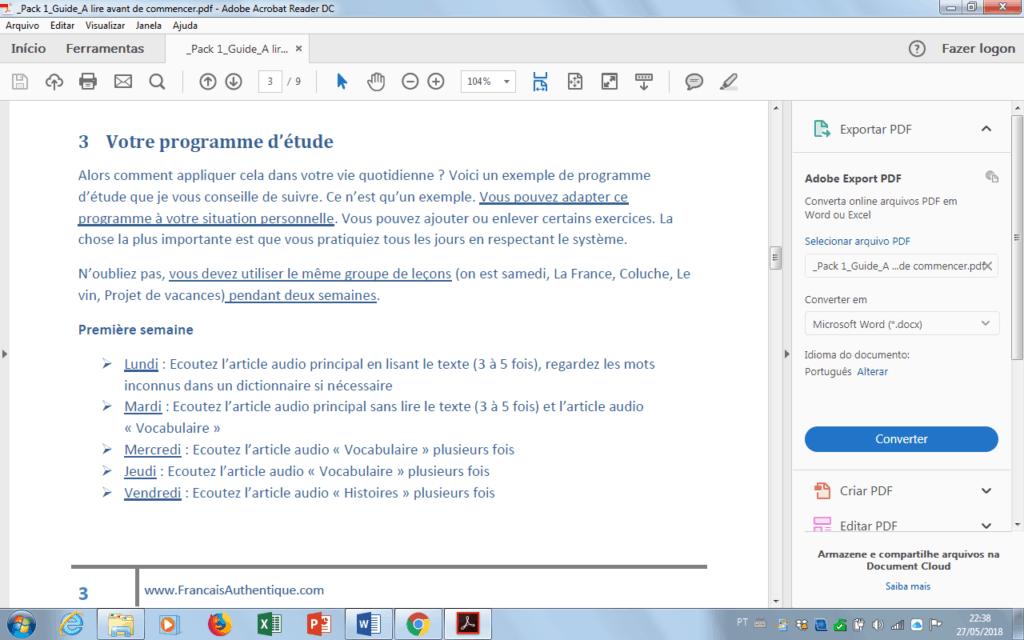 francais authentique pdf