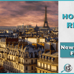 An Honest Review of News in Slow French With Image of Paris