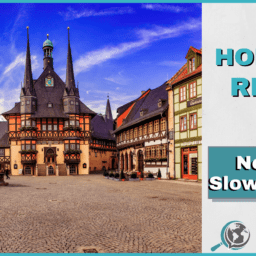 An Honest Review of News in Slow German With Image of German City