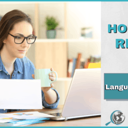 An Honest Review of Language101.com With Image of Woman on Computer