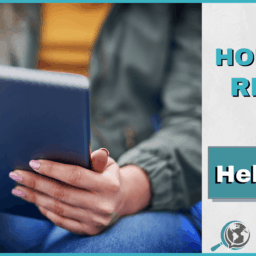 An Honest Review of HelloTalk With Image of Person on Tablet