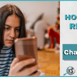 An Honest Review of Chatterbug With Image of Girl Holding Phone