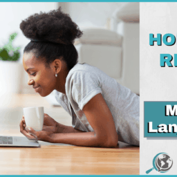 An Honest Review of Mango Languages With Image of Girl on Computer
