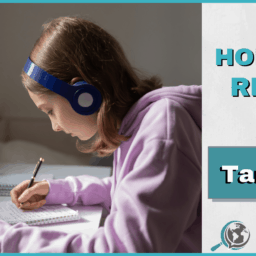 An Honest Review of Tandem With Image of Girl Wearing Headphones and Writing