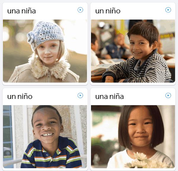 Rosetta Stone lesson example