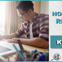 An Honest Review of Kwiziq With Image of Man Working on Computer