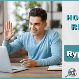 An Honest Review of Rype App With Image of Man Using Computer