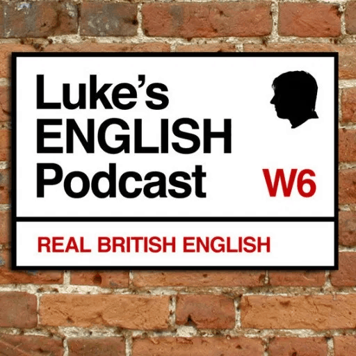 Luke's English Podcast Logo