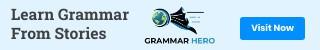 Grammar Hero banner
