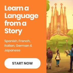 learn a language from a story ad