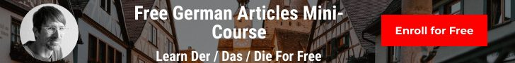 smarterGerman Free Mini Course Banner