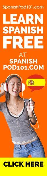 SpanishPod101 Banner
