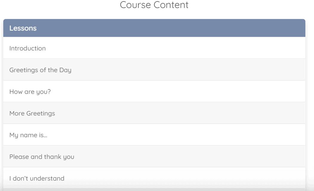 Cudoo Albanian Level 1 Content