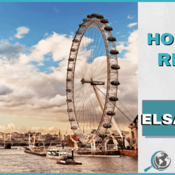 An Honest Review of ELSA Speak With Image of London