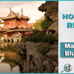 An Honest Review of Mandarin Blueprint With Image of Chinese Architecture Near River