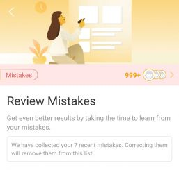 Review Mistakes