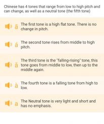 Tone Explanation
