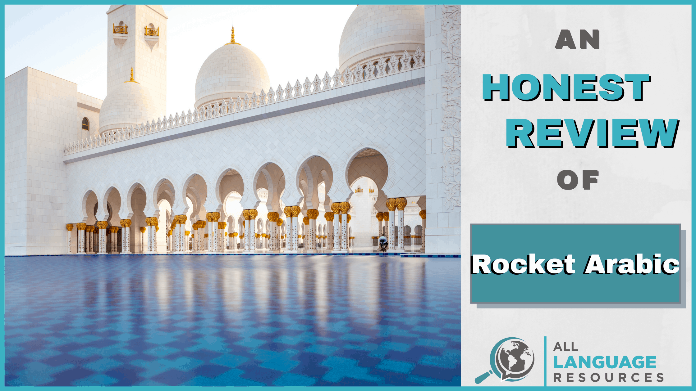An Honest Review of Rocket Arabic With Image of Arabian Architecture