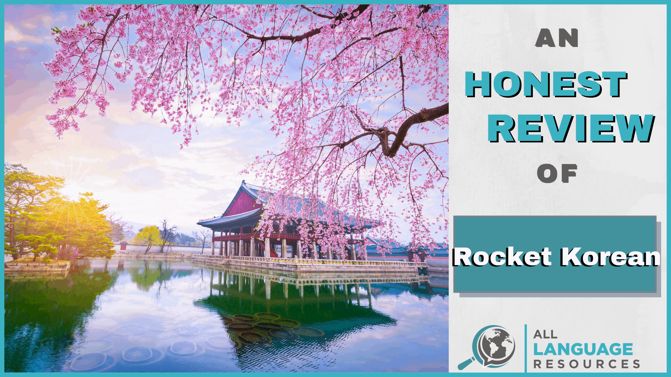 An Honest Review of Rocket Korean With Image of Korean Scenery