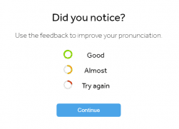 Pronunciation Rating Colors